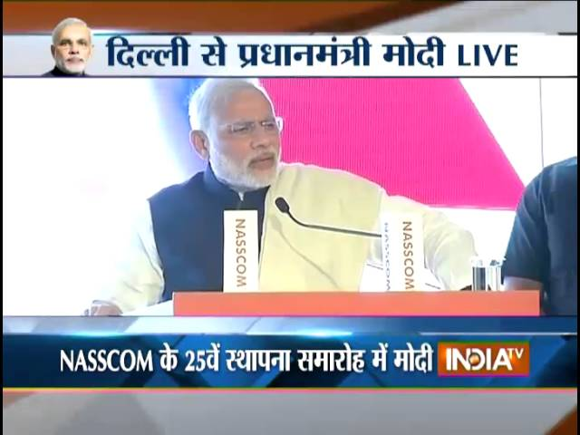PM at NASSCOM meet: IT must help India's governance process