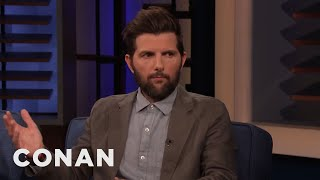 Adam Scott's Horrible Audition With Jeff Bridges - CONAN on TBS