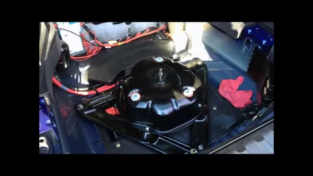 Bmw E53 Air Suspension Pump Removal Diy Youtube