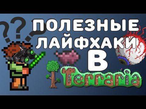 ТОП 5 САМЫХ ПОЛЕЗНЫХ ЛАЙФХАКОВ В ТЕРРАРИИ!