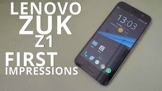 Lenovo ZUK Z1: First Look | Hands on | Launch