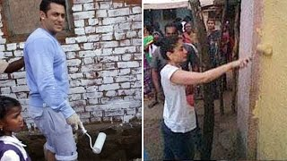 Salman Khan & Kareena Kapoor PAINT an entire VILLAGE