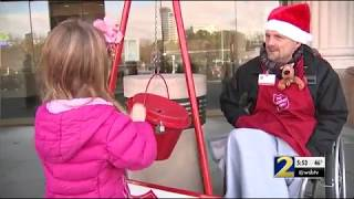 Police search for kid who stole red kettle from bell ringer with cerebral palsy