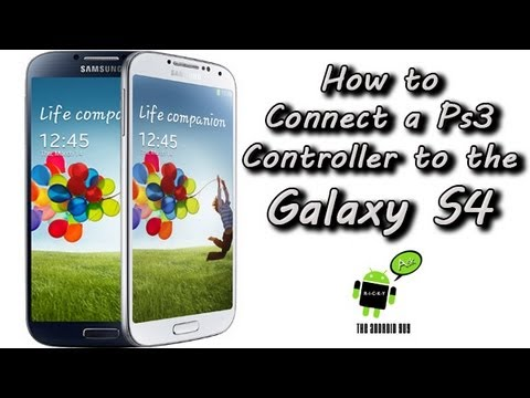 How to Connect a Galaxy S4 to a PS3 Controller