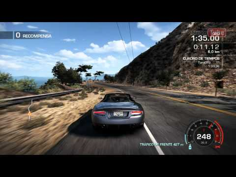 Need For Speed Hot Pursuit 2010 PC Español - Contrarreloj Aston Martin DBS Volante - HD 1080p