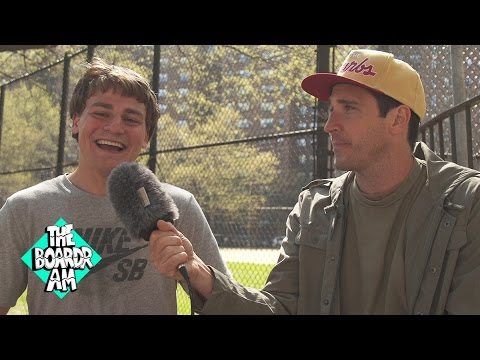 Yoshi Tanenbaum Interviewed by Tim O'Connor After Winning The Boardr Am NYC