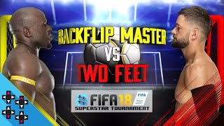 APOLLO CREWS vs. FINN BÁLOR - FIFA 18 Superstar Tournament Semifinals - Gamer Gauntlet