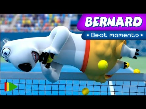 Bernard as the ball boy in a tennis match? This seems like the perfect situation for everything to go wrong. Subscribe now for more Bernard Bear: https://www.youtube.com/user/bernardbear Do...