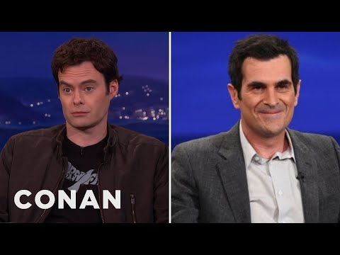 Bill Hader & Ty Burrell's Steamy Make-out Scene video