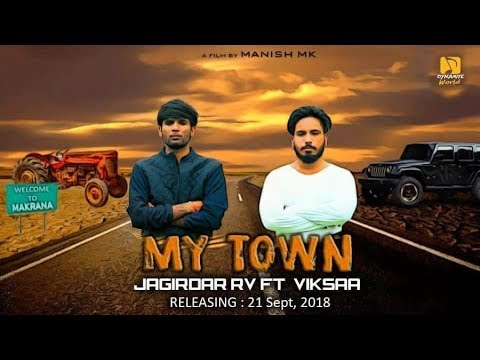 MY TOWN Official Video || VikSaa Ft. Jagirdar RV