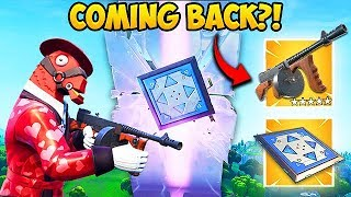 *NEW* DRUM GUN & BOUNCERS ARE COMING BACK! - Fortnite Funny Moments! #541