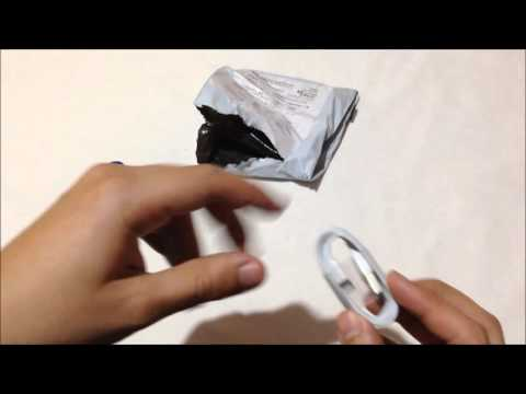 Todo Compra Chile: Unboxing cable lightning IPHONE 5/5S/6/6S (Aliexpress)