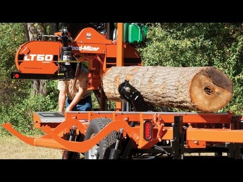 Wood-Mizer LT50 Hydraulic Portable Sawmill: Produce Faster. Perform Better
