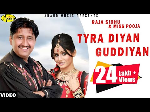 Tyrera Diyan Guddiyan Raja Sidhu & Miss Pooja [ Official Video ] 2012 - Anand Music video