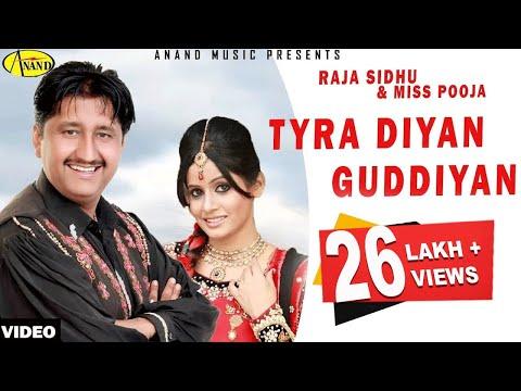 Tyrera Diyan Guddiyan Raja Sidhu & Miss Pooja [ Official Video ] 2012 - Anand Music video