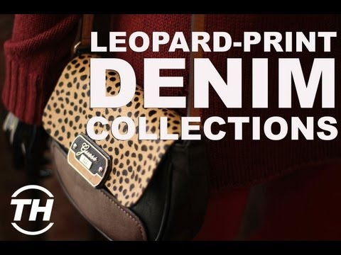 Leopard-Print Denim Collections - The GUESS 2013 Collection for Fall is a Ferocious Fashion Affair