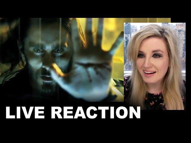 Morbius Trailer REACTION thumbnail