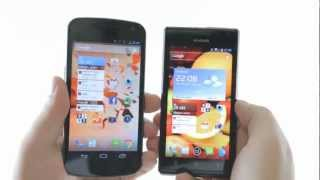 Huawei Ascend P1 vs Galaxy Nexus review