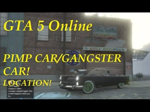 GTA 5 Online: Pimp Car/Gangster Cars-