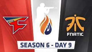 ECS S6 Day 9 - FaZe vs Fnatic, G2 vs Astralis // MiBR vs eUnited, MiBR vs LG