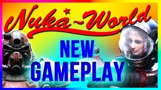 Fallout 4 Nuka World DLC NEW GAMEPLAY Review Walkthrough (Start, Weapons, Map, Locations, Release)