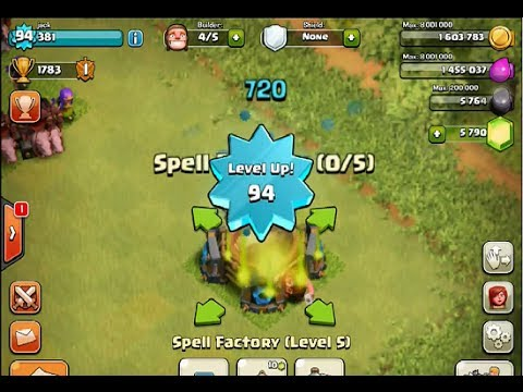 clash of clans spell factory - photo #23