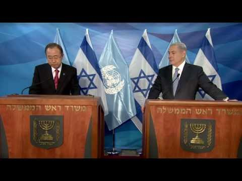 PM Netanyahu's meeting with UN Secretary General - 13.10.2014