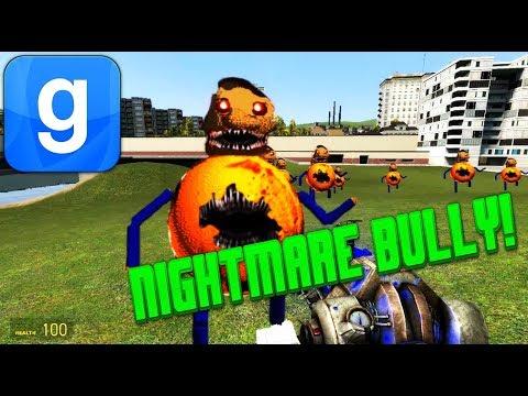 новый мод не опубликован! Nightmare Bully In Garry's Mod!! (Mod) 2018