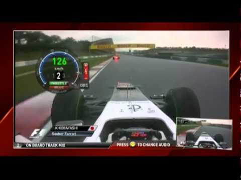 F1 Malaysia 2012 -kamui kobayashi onboard