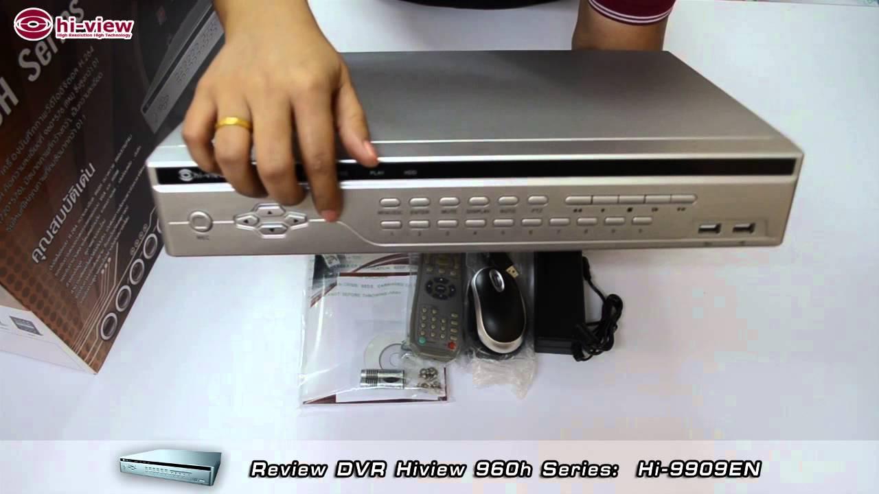 Review dvr hiview 960h series hi 9909en youtube