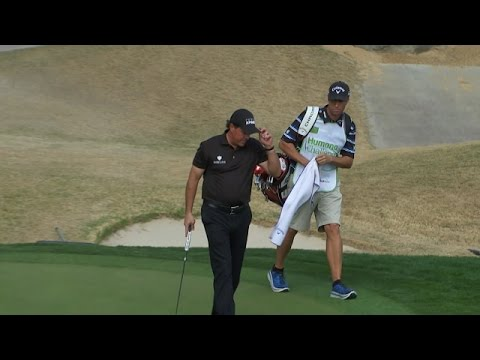 Phil Mickelson's fabulous tee shot sets up birdie at Humana