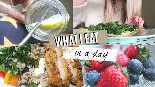 WHAT I EAT IN A DAY | Kate Bridge
