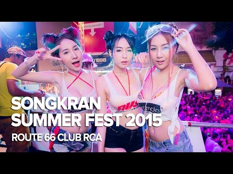 Songkran SummerFest 2015 at Route 66 Club RCA Bangkok