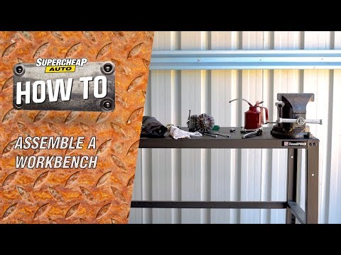 How to Assemble a Work Bench