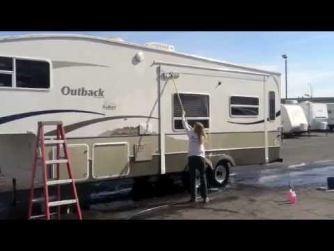 Rv Decal Removal Youtube