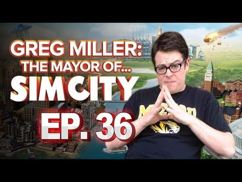 Greg Miller: Mayor of SimCity - IGN Plays SimCity: Katie's City Is Pretty No. 36