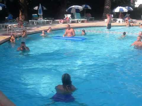 Park Hotel Corfu Gouvia Swimming Pool July 2010
