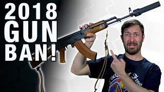 HR 5087:  The Assault Weapons Ban of 2018! - The Legal Brief