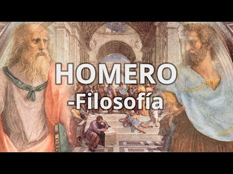 Homero - Filosofía - Educatina