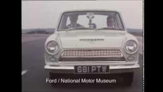Ford Cortina Mk I Testing - 1962