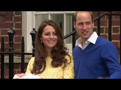 Duchess of Cambridge gives birth to a princess