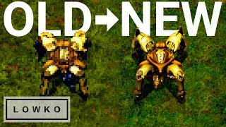 StarCraft: Remastered - ALL Protoss Units!