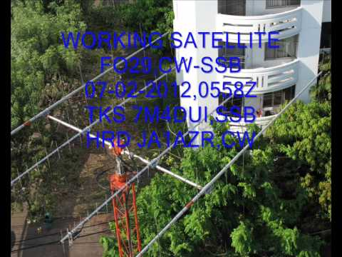 #FO29,#AMSAT,#CW,#SSB,07-02-2012,0558Z TKS 7M4DUI,HRD JA1AZR.wmv