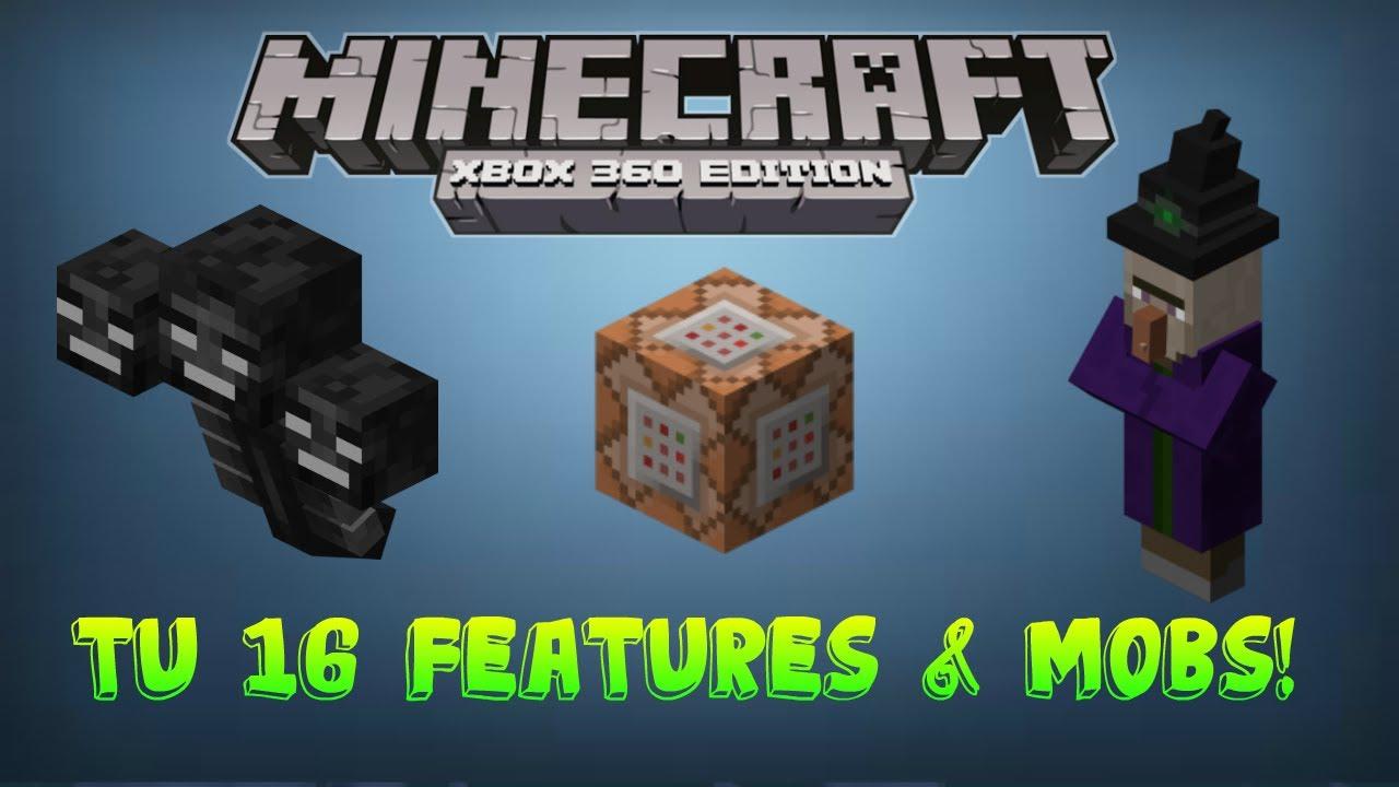 Minecraft Xbox 360 tu 16