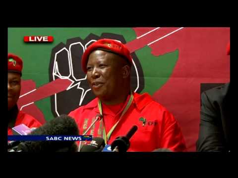 EFF accepts outcome of elections