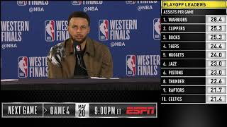 Stephen Curry Press Conference | Western Conference Finals Game 3