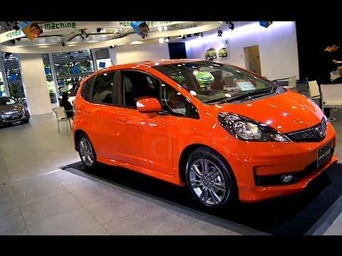 2011 Honda Fit / Jazz RS (orange)