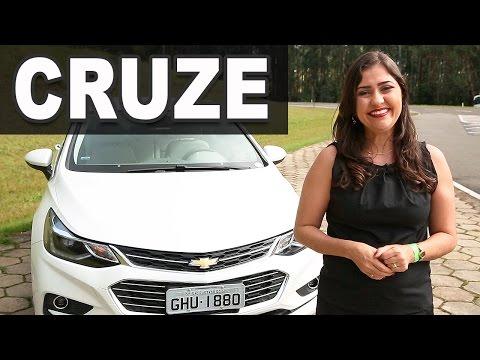 Novo Chevrolet Cruze 2017 LTZ Plus 1.4 Turbo Em Detalhes