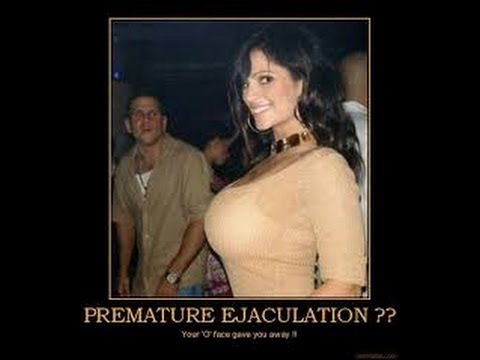Premature Ejaculation Sucks Ball's Literally
