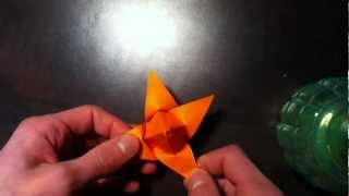 Faire Un Bouton De Lotus - Origami Fleur